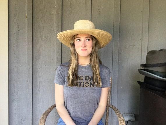 Summer Straw Hat, Hand Made Stylish Sun Hat, - image 3