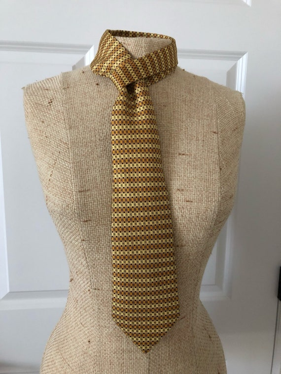 Vintage Hermes Silk Tie - image 7