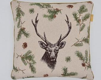 "Pillowcase ""Hirsch Weihnachten"""