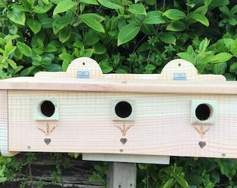 Hedge Sparrow House Nesting Box