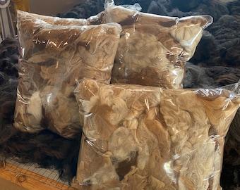 Alpaca Fiber Garden Mulch ~ Bird Nesting Filler ~ Insulation