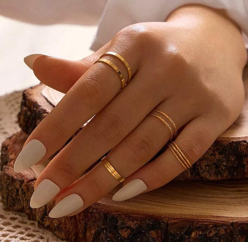 Ring Set Gold