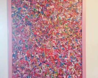 Pretty in Pink, Abstract painting