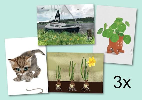 3 verschillende posters uit de 50 Jaar Nieuwegein selectie, A2