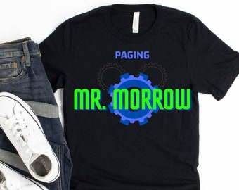 People Mover - Theme Parks T-Shirt - Shirts for Men and Women - Family Shirts -  Tomorrowland - Magic Kingdom - Paging Mr. Morrow