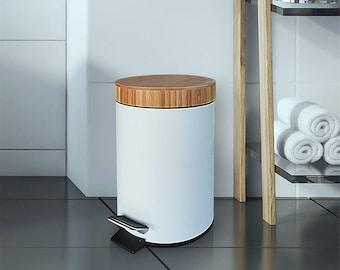 Bathroom Trash Can, Decorative Bathroom Trash Cans With Lids