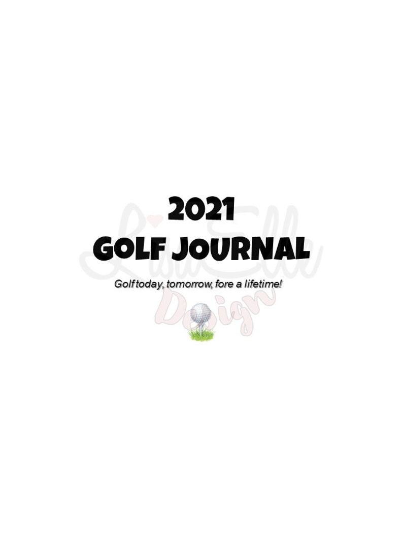 Golf Journal  Planner image 0