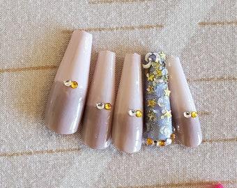 Stargazing nails