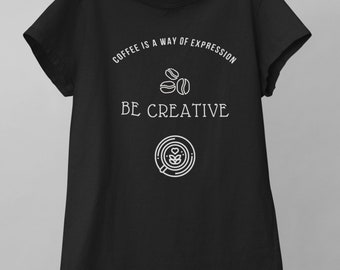 Way of Expression Unisex Tee | Fashionable and High-Quality T-shirt Made with a Be Creative Design | Perfect Gift for Writers and Architects