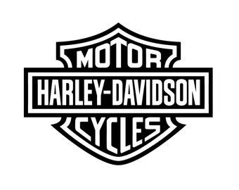 Harley Davidson Logo Digital File (PNG, SVG)