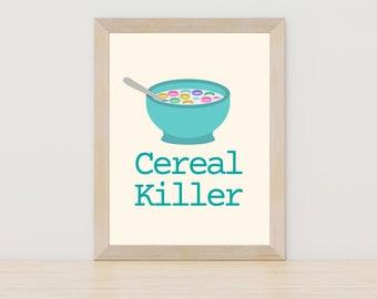 Cereal Killer - Digital Print