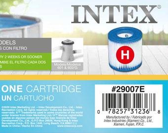 Genuine Intex Type H Filter Cartridge (1 Piece)