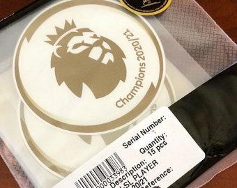 Sleeve Badge Premier League Champions 20/21 (Man City)