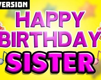Happy Birthday Song Etsy