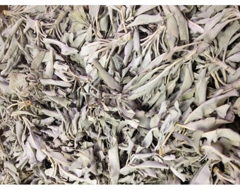California White Sage Clusters Loose 1lb | Ritual Work | Energy Clearing | House Clearing
