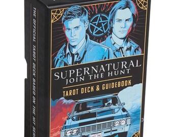 Supernatural Tarot Deck with Guidebook