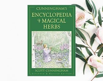 Scott Cunningham's Encyclopedia of Magical Herbs | NEW | Wicca | Witch craft | Herbal Recipes