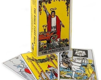 Authentic Rider Waite Deck for Mediumship Readings or Personal Use | New in package | 78 Cards | Authentic Rider Waite Deck