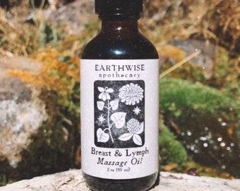 Breast & Lymph Massage Oil