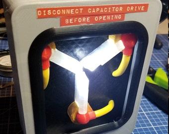 Mini Flux Capacitor 3D printed replica