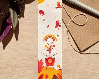 Flower | bookmark bookmark - cute stationery - bookmark