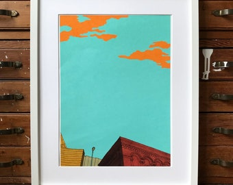 Skyline Giclée Print