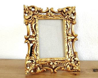 Gold baroque photo frame Victorian ornate picture frame