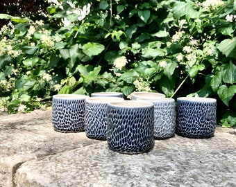 Mug, midnight blue-dark grey
