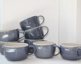 Coffee cup, night blue