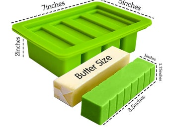 Butter Mold Tray with Lid Storage - Cannabutter Mold - CBD Butter Mold with Lid
