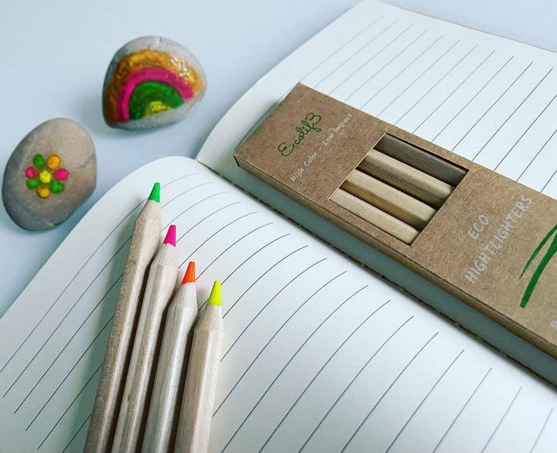 ECO Highlighter Pencil Highlighters Ecological and 100% image 1