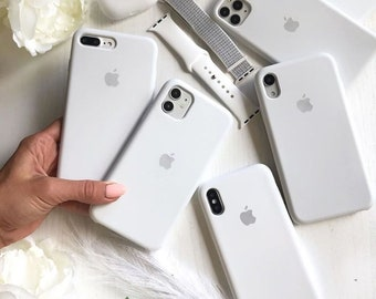 60 colors Custom Silicone Cases for Apple iPhone 7/8/SE 2020 / iPhone 7/8 Plus / iPhone X/XS / iPhone XR / iPhone 11/11 Pro/ 11 Pro Max