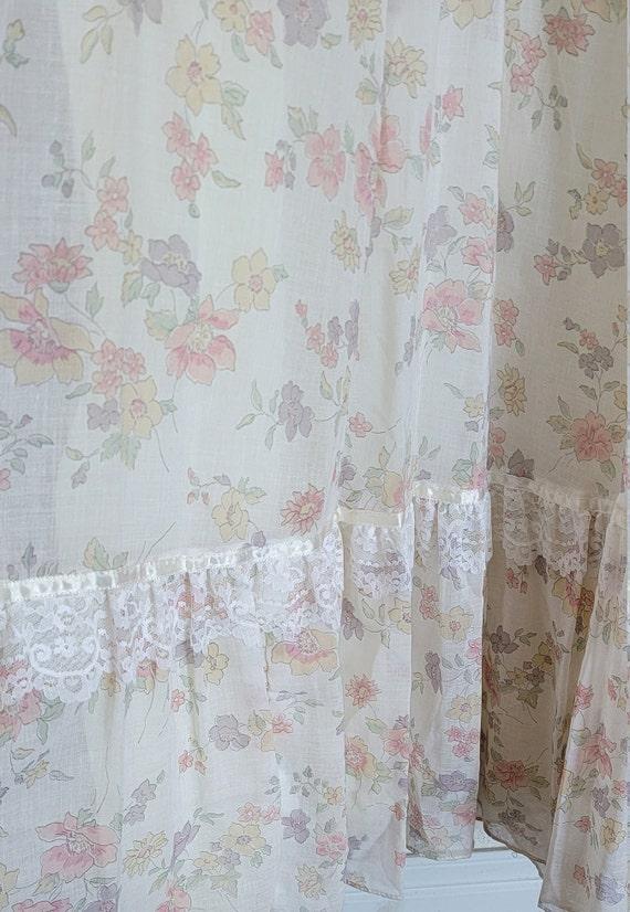 Vintage Gunne Sax floral Prairie Dress - image 6