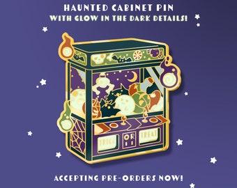 Haunted Crane Game Glow in the Dark Enamel Pin *Pre-order*
