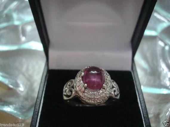 Estate Antique Retro Jewelry Ladys Beautiful Silv… - image 1
