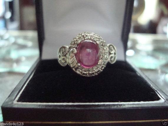 Estate Antique Retro Jewelry Ladys Beautiful Silv… - image 5