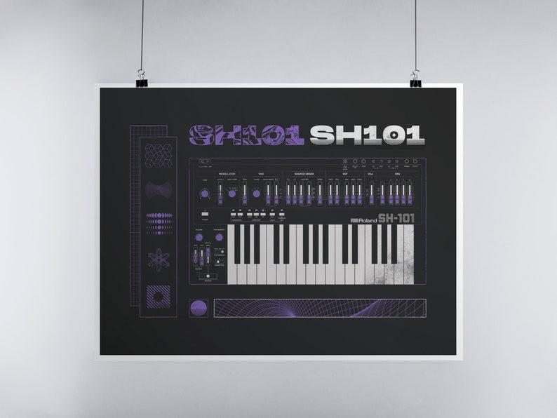 Roland SH-101 Art Print image 0