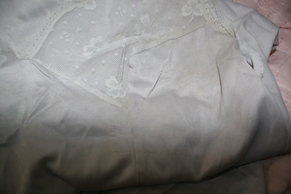 Original 50s underdress lace transparent - image 4