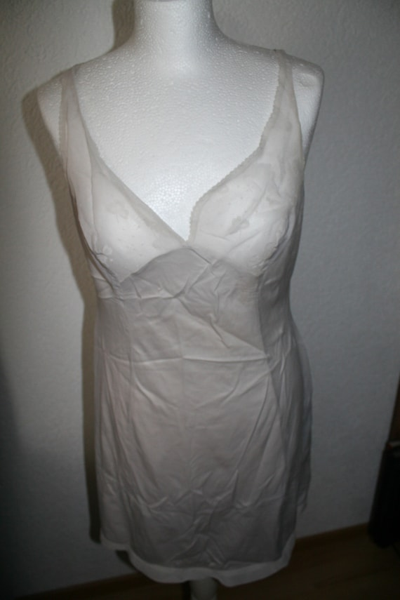 Original 50s underdress lace transparent - image 1