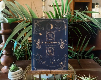 Scorpio Astrology Journal • 180-page Lined Astrology Sign Journal