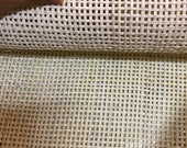 WIDTH 18 quot , Natural Rattan Cane Square Webbing (Radio Weave). Most bought in Vietnam.