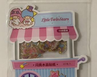 Sanrio My Little Twin Stars Sticker Flakes