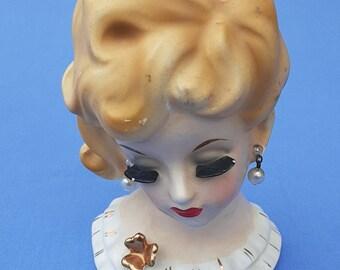 Napcoware Blonde Headvase # C5938