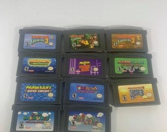 Mario Games Donkey Kong Games Nintendo Video Game Boy Advance GBA Console Game GBA English USA. Seller!