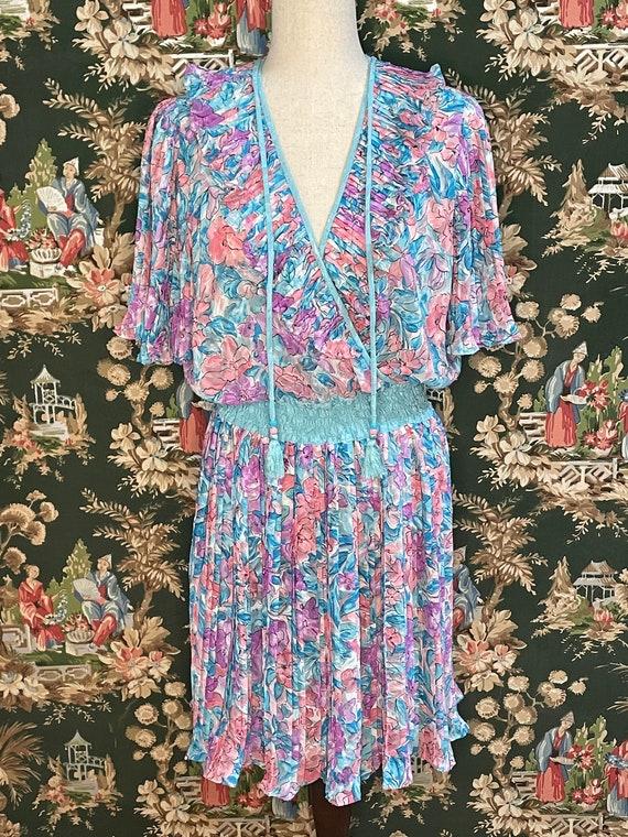 1980s Vintage Diane Freis Dress