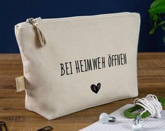 Gift against homesickness   Bag 'Open in case of homesickness'