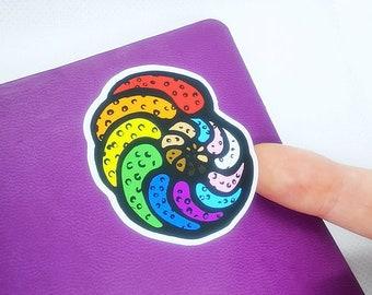 Queeraminifera - Pride Flags Foraminifera Stickers