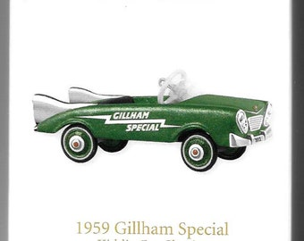 Hallmark ~ Kiddie Car Classics / 1959 GILLHAM SPECIAL / Limited Quantities / Special Edition