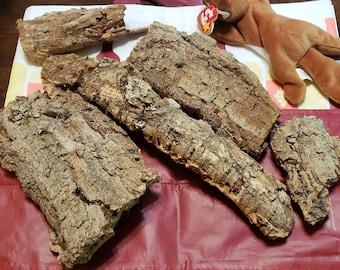 Cork Bark Flats - 1 pound