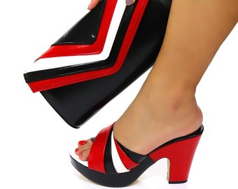 Ladies Glamour - Matching Shoe and Bag Set for Wedding & Kitty Parties For A Classy Women